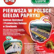 Pierwsza w Polsce Giełda Papryki